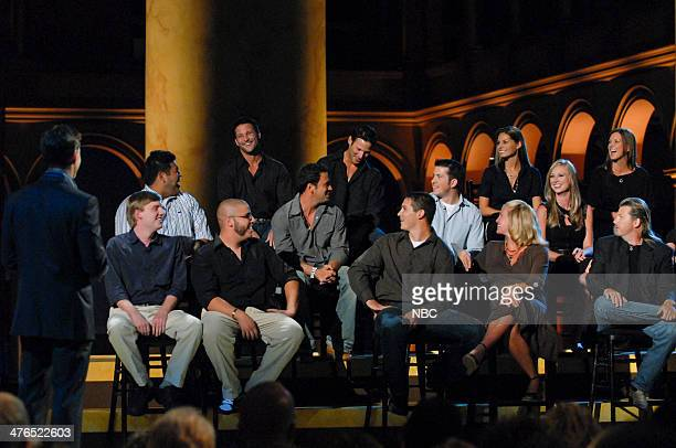 HUNTERS Finale Episode 111 Pictured Contestants Martin MullenMatthew Mullen Kristen Johnson Melissa Witek Sam Khurana John Collins Matt Zitzlsperger...