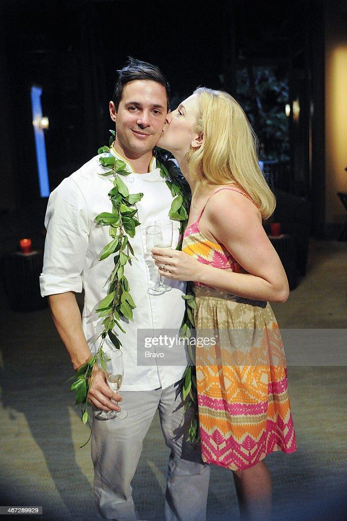 TOP CHEF -- 'Finale' Episode 1117 -- Pictured: (l-r) Winner Nick Elmi, wife Kristen Elmi --