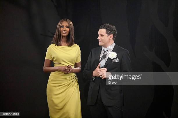 "Finale"" Episode 210 -- Pictured: Host Iman, co-host Isaac Mizrahi"