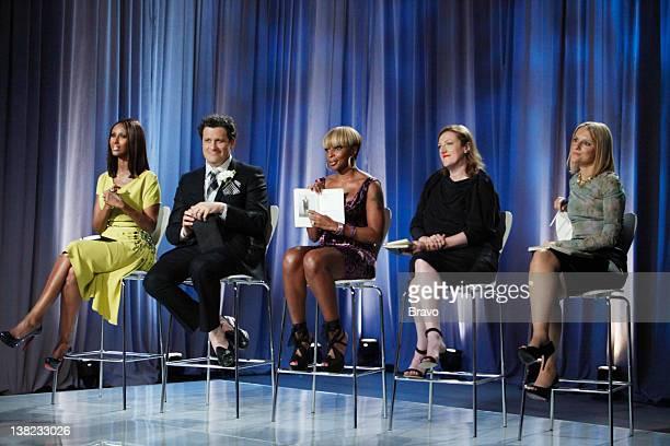 "Finale"" Episode 210 -- Pictured: Judges Iman, Isaac Mizrahi, Mary J Blige, Glenda Bailey, Laura Brown"