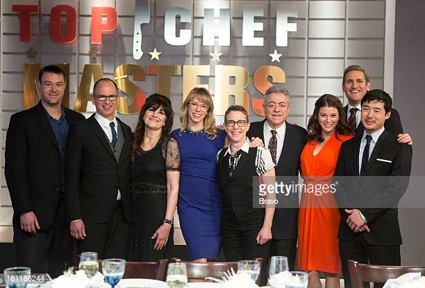 MASTERS 'Finale' Episode 510 Pictured Judges Hadley Tomicki James Oseland Ruth Reichl Leslie Suter Jane Goldman Alan Richman Gail Simmons Curtis...