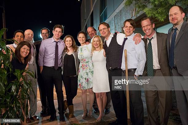THE OFFICE Finale Episode 924/925 Pictured Kate Flannery as Meredith Palmer Oscar Nunez as Oscar Martinez Creed Bratton as Creed Bratton Andy Buckley...