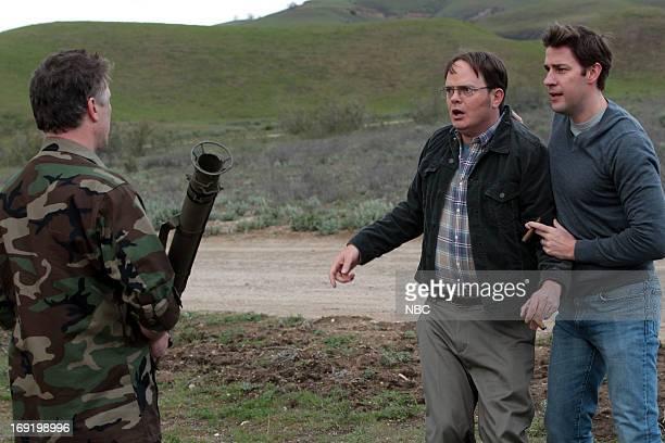THE OFFICE Finale Episode 924/925 Pictured Rainn Wilson as Dwight Schrute John Krasinski as Jim Halpert