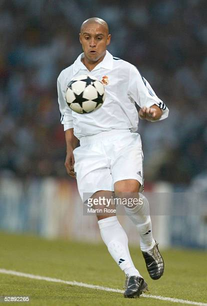 Finale Glasgow BAYER 04 LEVERKUSEN REAL MADRID 12 REAL MADRID CHAMPIONS LEAGUE SIEGER 2002 Roberto CALROS/MADRID