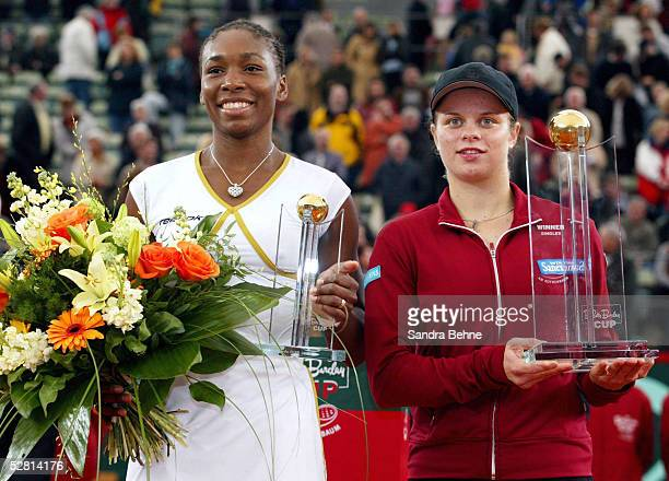 CUP 2002 Finale Hamburg Venus WILLIAMS/USA Kim CLIJSTERS/BEL Venus WILLIAMS/USA SIEGERIN Kim CLIJSTERS/BEL
