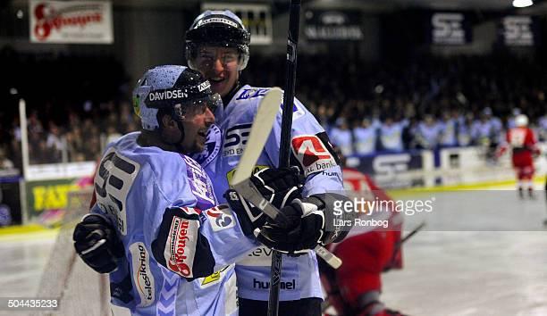 Finale Icehockey - Aleksandrs Macijevskis, Sønderjyske Ishockey © Lars Rønbøg / Frontzonesport