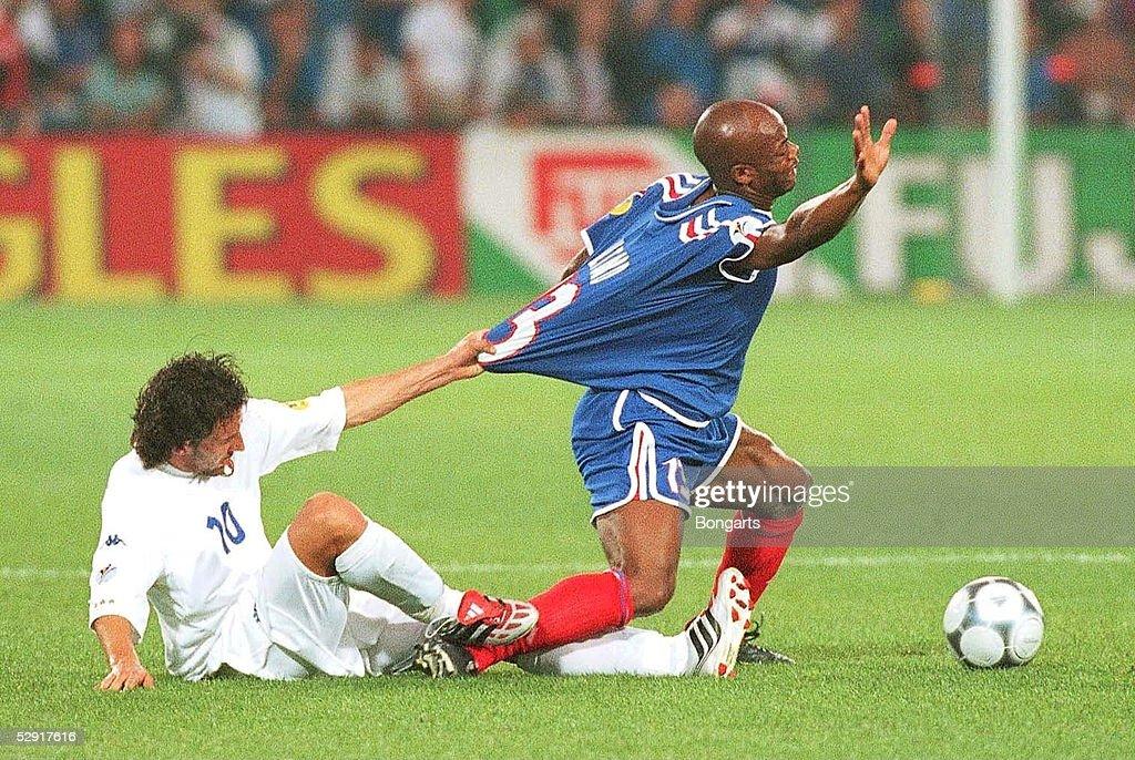 EM EURO 2000 Finale FRA - ITA 2:1 n.V. : News Photo