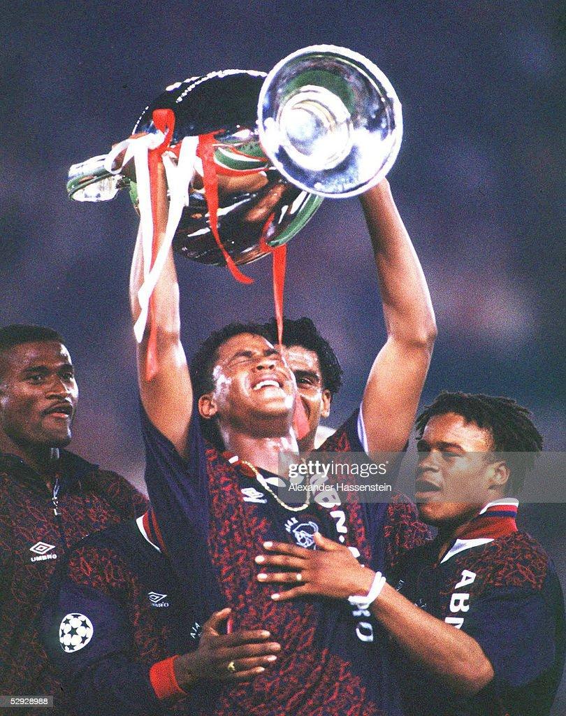 CHAMPIONS LEAGUE 94/95, Finale in Wien, 24.05.95 : News Photo