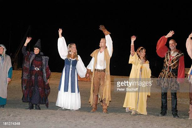 """Ingrid van Bergen , Julia Horvath , Sascha Gluth , Jenny Jürgens , Dietmar Lahaine , """"Störtebeker Festspiele"""", """"Piraten vor Britannien"""", Naturbühne..."""