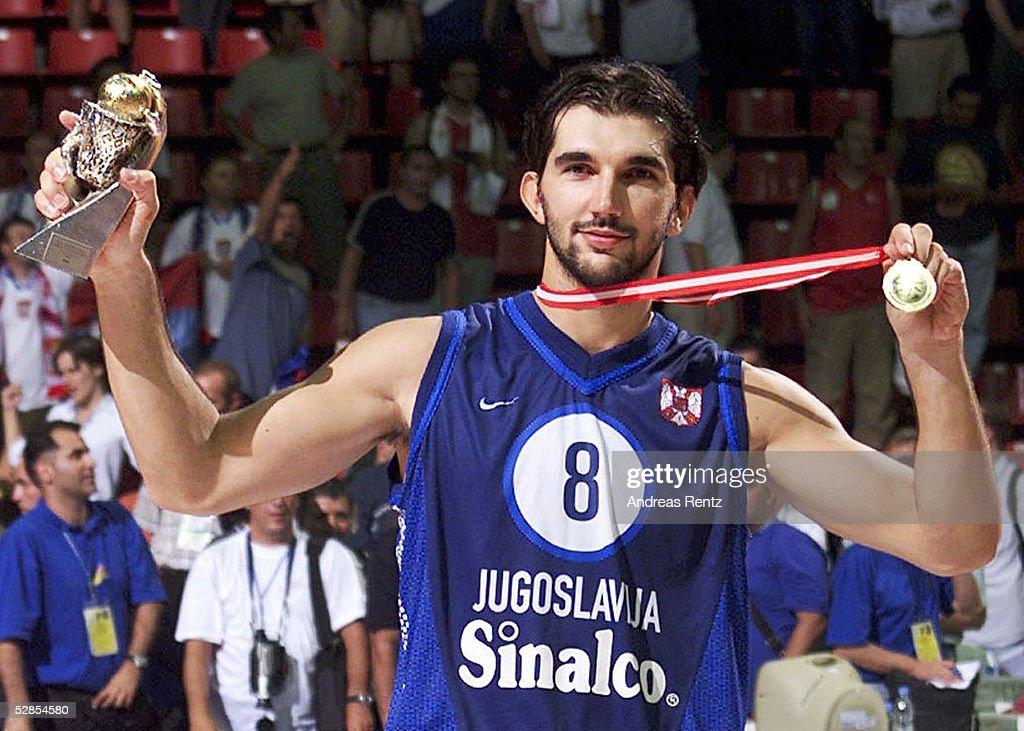 BASKETBALL/MAENNER: YUGOSLAWIEN : Fotografía de noticias