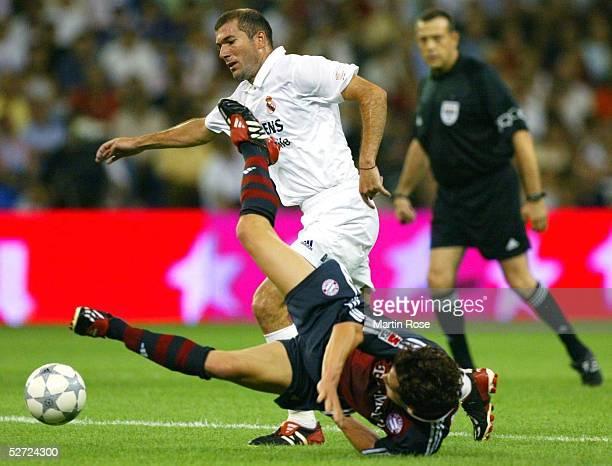 MADRID Finale Madrid REAL MADRID FC BAYERN MUENCHEN 12 Zinedine ZIDANE/MADRID Hasan SALIHAMIDZIC/BAYERN