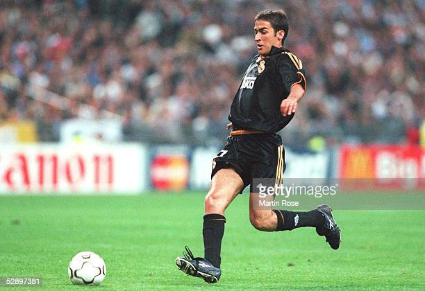 LEAGUE 99/00 Finale Paris/FRA REAL MADRID FC VALENCIA 30 RAUL/REAL