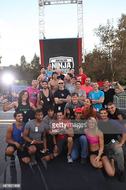 WARRIOR 'Finale Screening' Pictured American Ninja Warrior Competitors at the Gene Autry Museum Los Angeles Calif September 9 2015