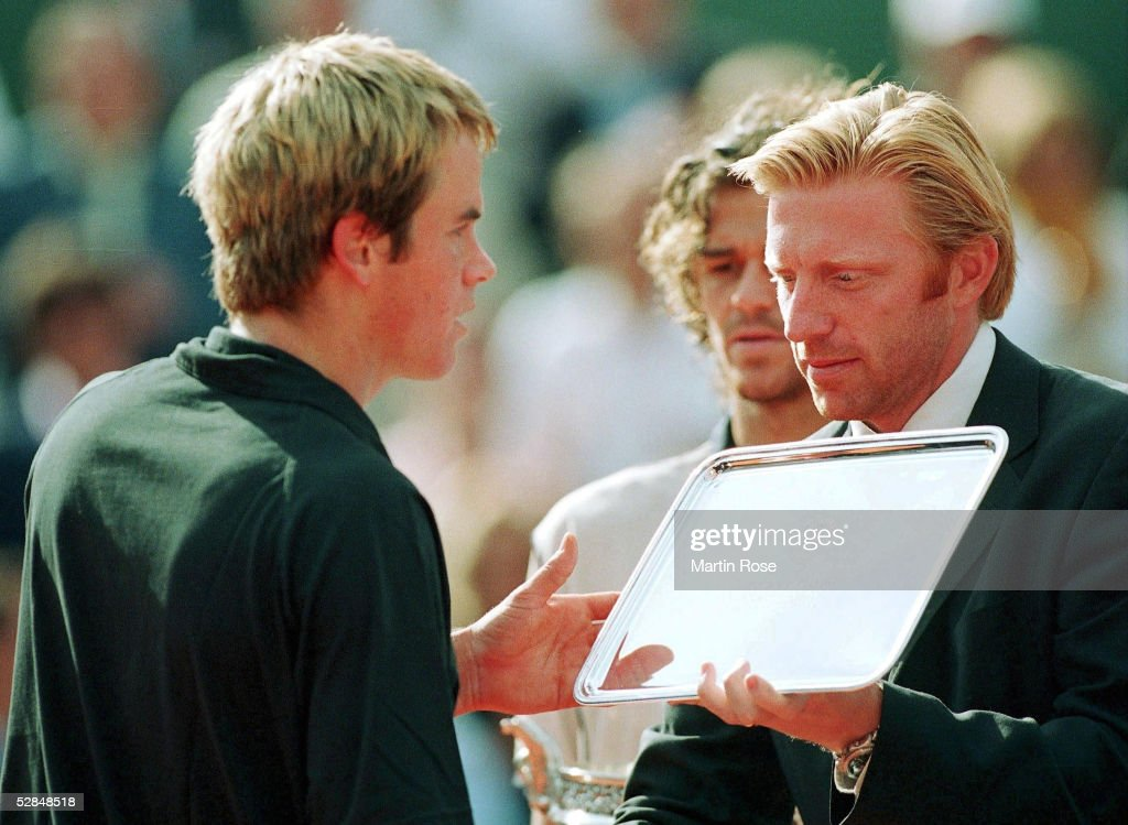 BECKER/NORMAN/TENNIS: FRENCH OPEN 2000 : News Photo