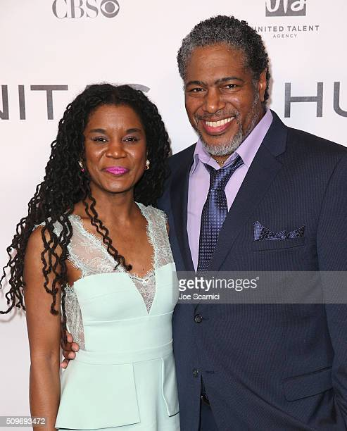 Finalist Chisa Hutchinson for 'New Voices' and President of the Humanitas Awards Ali LeRoi attend the 41st Humanitas Prize Awards Ceremony at...