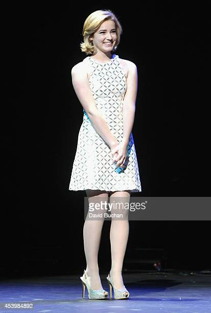 Finalist Erin Timony of FreshBlush attends NYX FACE Awards 2014 Presented by NYX Cosmetics at Club Nokia on August 22 2014 in Los Angeles California