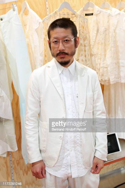 Finalist Kunihiko Morinaga attends the LVMH Prize 2019 Edition at Louis Vuitton Foundation on September 04, 2019 in Paris, France.