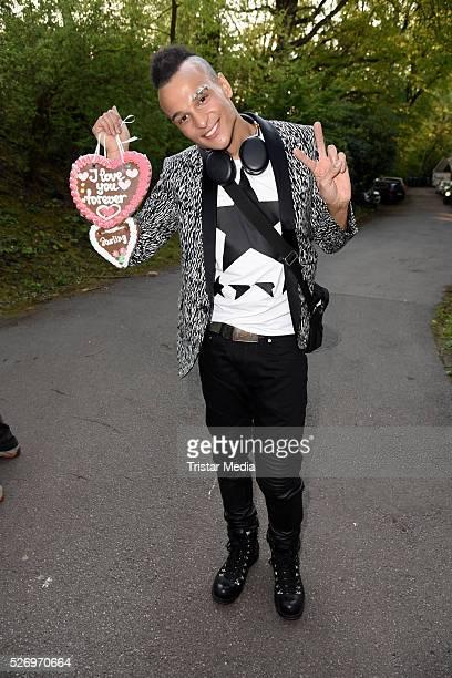 Finalist Prince Damien attends the VIP Area - 'BILD Renntag' At Trabrennbahn Gelsenkirchen on Mai 01, 2016 in Gelsenjirchen, Germany.