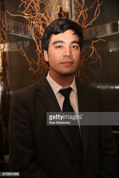 Finalist Roberto Pino Almeyda attends the JCSI Young Creatives Award Ceremony Luncheon at Sofitel Hotel on November 18 2017 in New York City