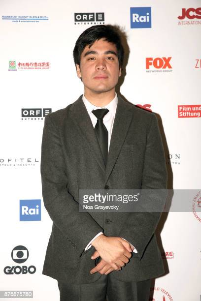 Finalist Roberto Pino Almeyda attends the Nominee Medal Ceremony JCSI Young Creatives Award Presentation at Sofitel Hotel on November 18 2017 in New...