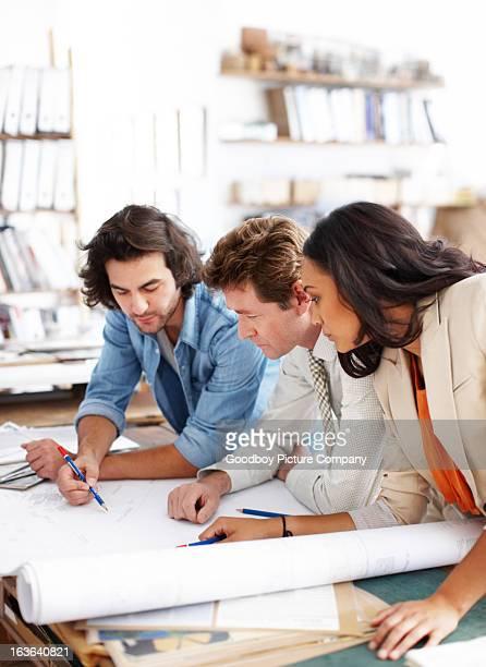 Finalizing the perfect blueprint
