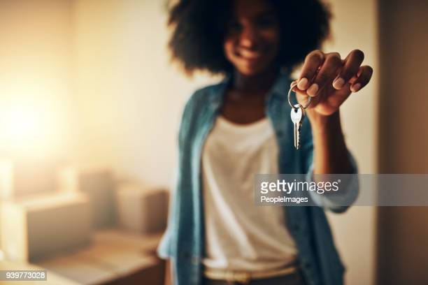 i finally have the keys to myself - house key stock photos and pictures