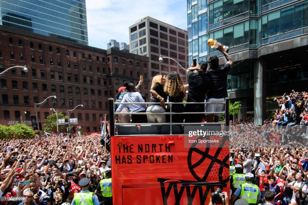 NBA: JUN 17 Toronto Raptors Championship Parade : Nachrichtenfoto