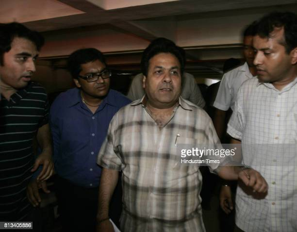 BCCI finance and media committee chairman Rajeev Shukla after the BCCI meating in Mumbai on 24th April 2010