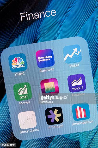 Finance  apps on Apple iPhone 6S Plus Screen