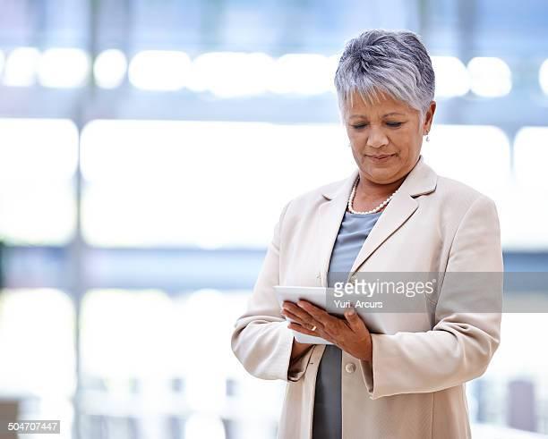 Finance at her fingertips