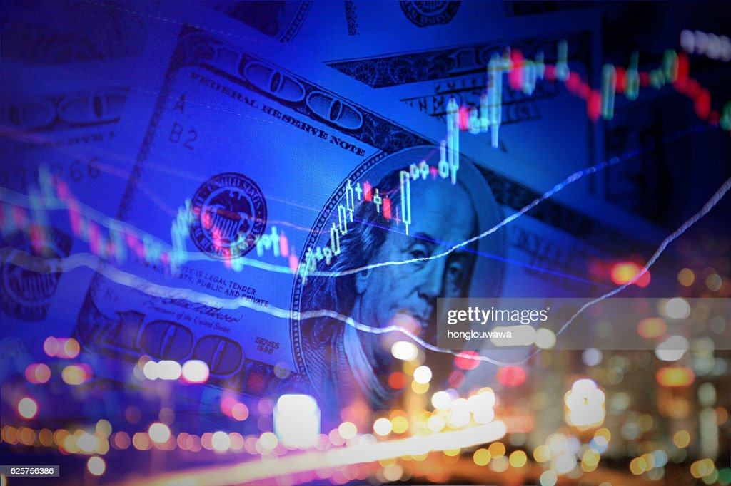Finance background : Stock Photo