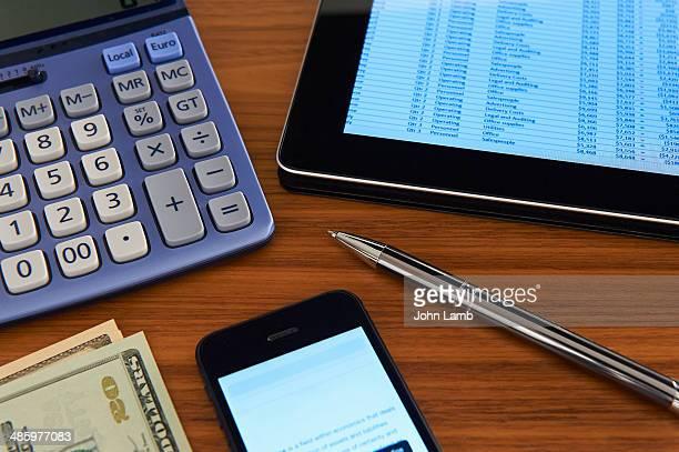 Finance desk