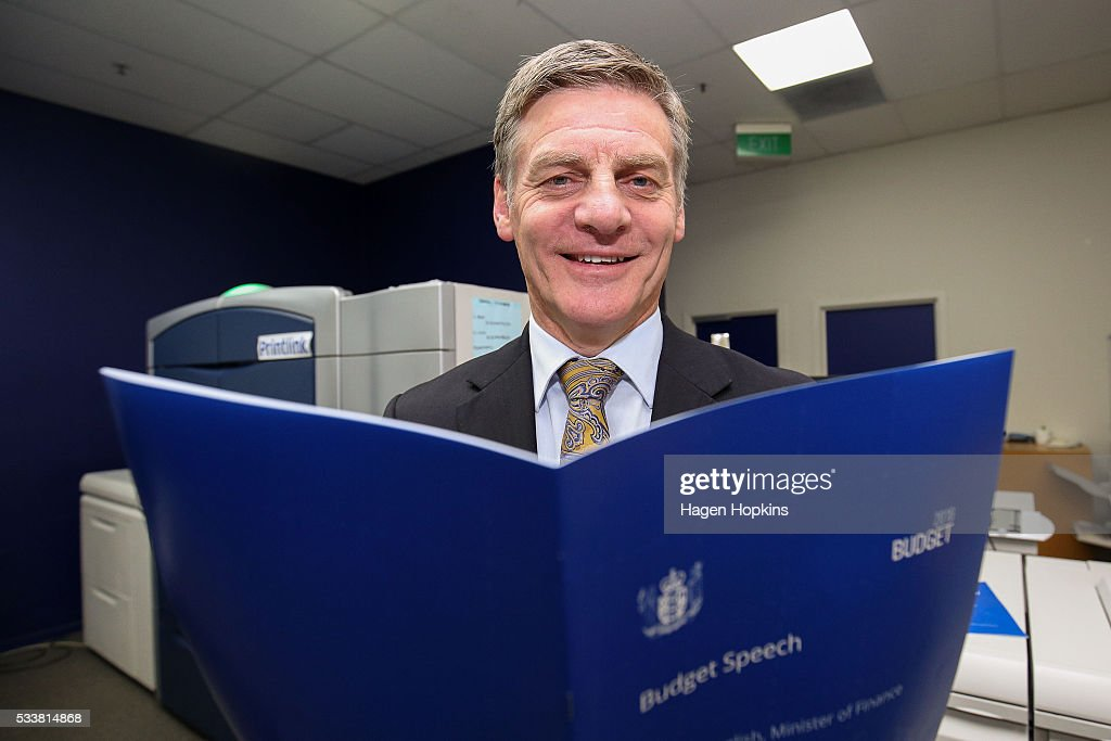 New Zealand Budget Printed In Wellington