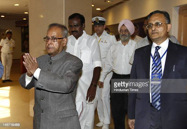 Finance Minister Pranab Mukherjee at the All India conference of Chief Commissioners and Directors General of Customs, Central Excise and Service Tax...