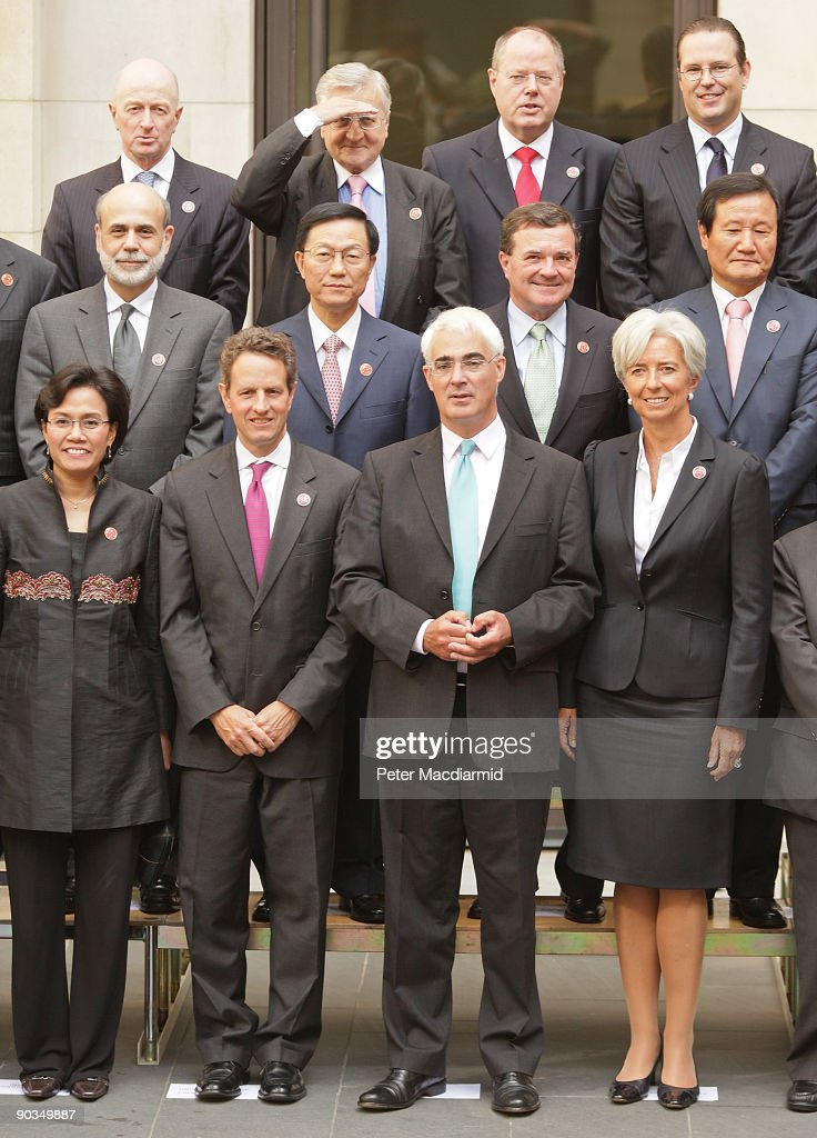 The G20 Finance Ministers Hold Talks To Try And Boost the Global Economy
