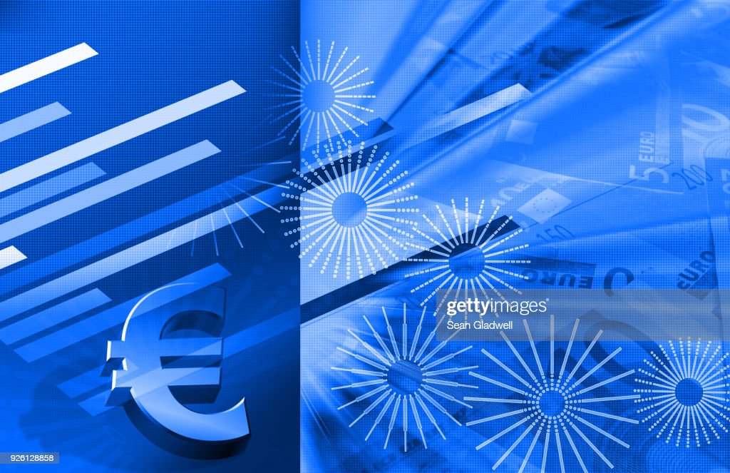 Finance report : Stock Photo