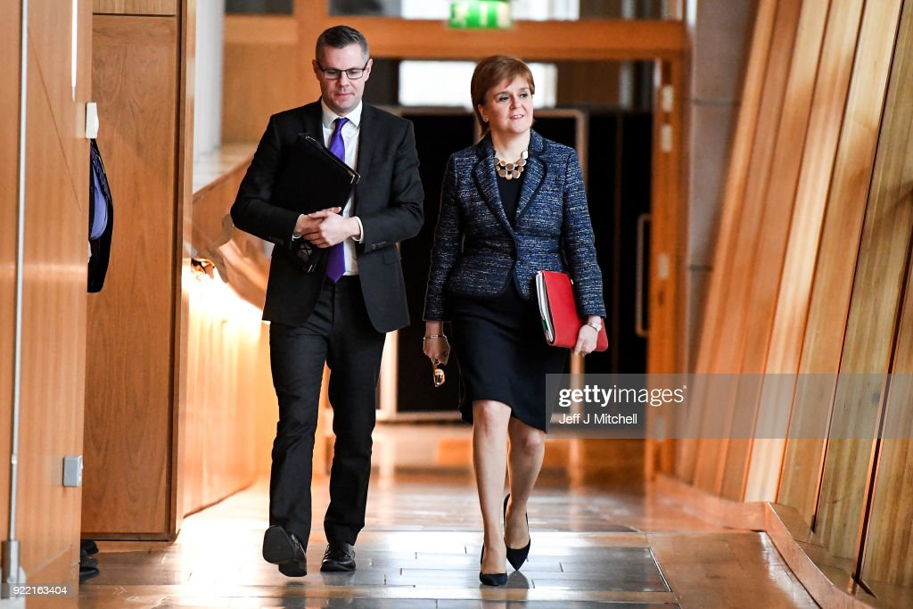 Holyrood Debates The Scottish Budget For 2018/2019