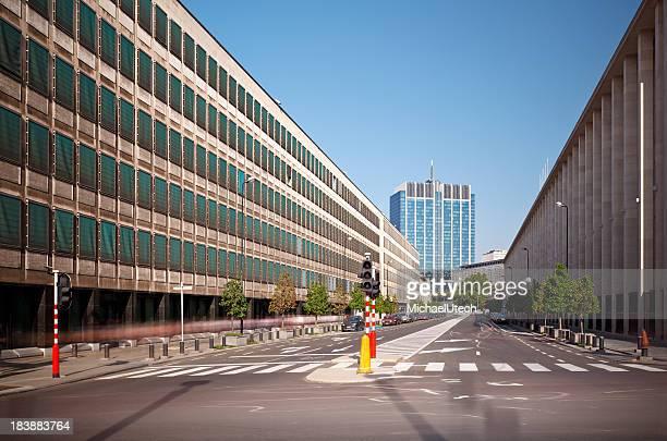 Finance Tower In Brussels, Belgium