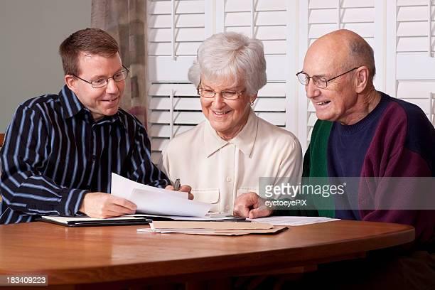 財務アドバイスとシニア(アドバイザーシリーズ