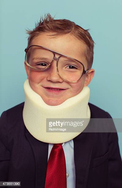 financial advisor boy is beat up - neckwear stock pictures, royalty-free photos & images