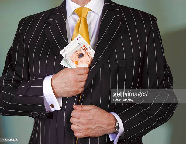 financial advisor with british currency - british pound sterling note stock pictures, royalty-free photos & images