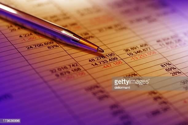 Financial Analyzing Concept