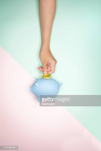 financial apparitional concept image. - piggy bank stock pictures, royalty-free photos & images
