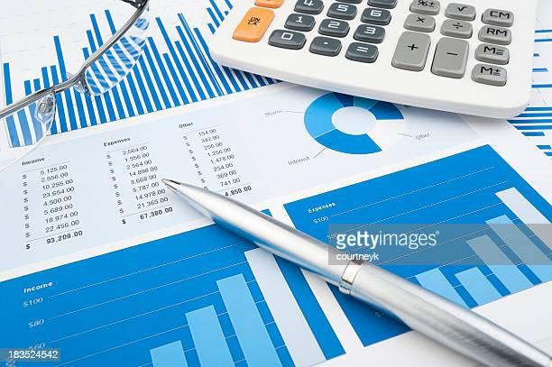 Tableaux et graphiques financier