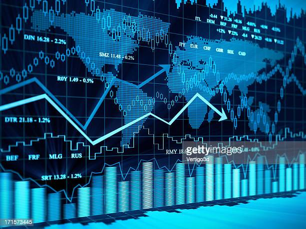 financial charts - interest rate stock pictures, royalty-free photos & images