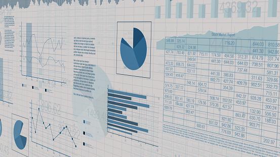 financial charts, stock market 1159047794
