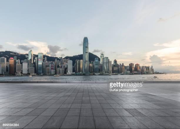 Financial city Hong Kong