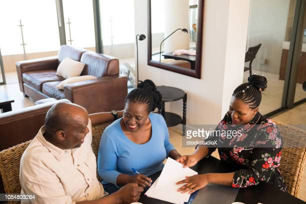 Financial consultation at home