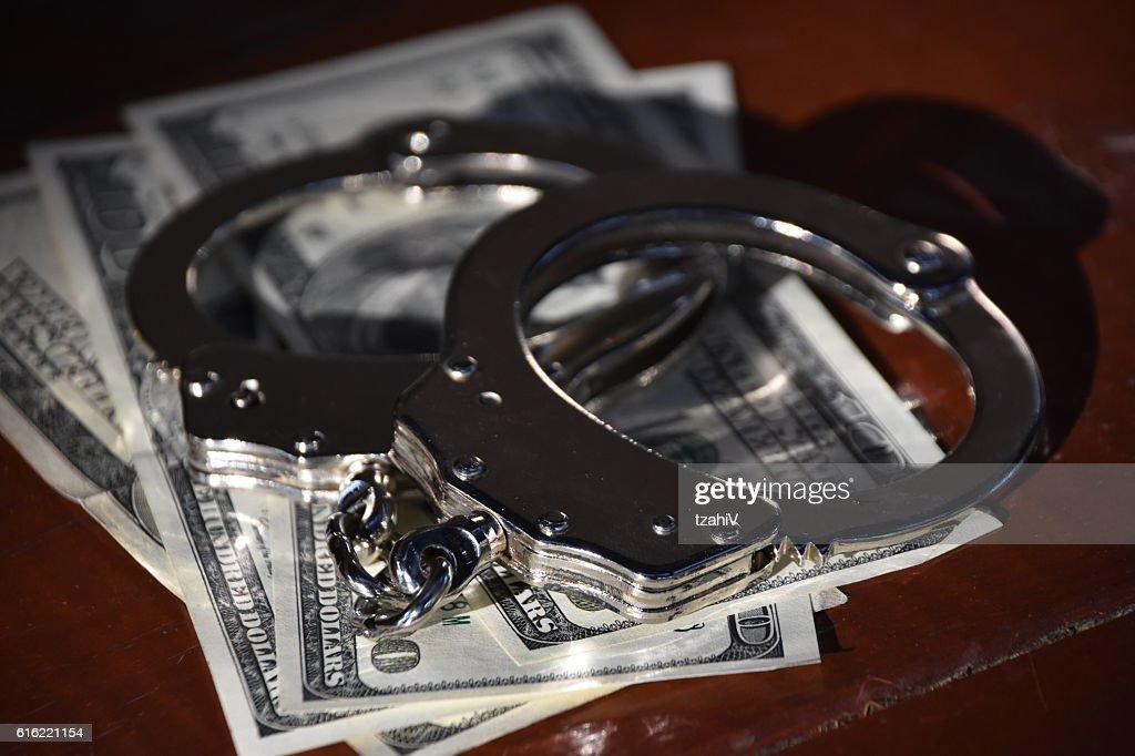 Financial Crime : Stockfoto