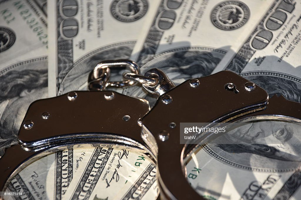 Financial Crime : Stock Photo